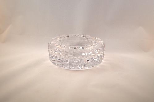 Whitefriars Cut Crystal Ashtray / Pin Dish