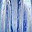 Thumbnail: Whitefriars 1980 FLC SKY BLUE Bubbled Lobed vase