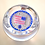 Thumbnail: Whitefriars Pre-production Trial Large USA Flag Paperweight