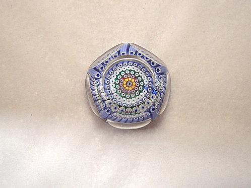 Rare Whitefriars Miniature Millefiori Paperweight