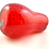 Thumbnail: Whitefriars 1980 Ruby Red Art Glass Pear