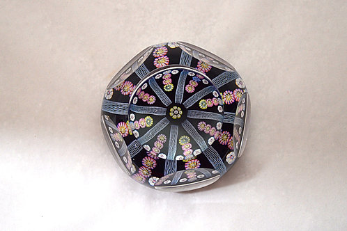 "Whitefriars ""Spray Lace Twist"" Paperweight"