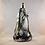 Thumbnail: Whitefriars M8 Streaky Lichen Lamp Base