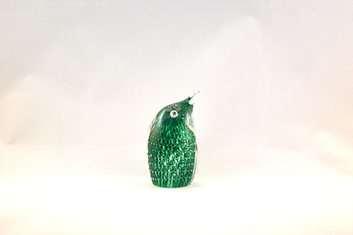 Ray Annenberg Art Glass Incredibly Tiny Bubbled Penguin