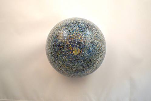 Rare Whitefriars Experimental Design Splatter Paperweight