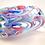 Thumbnail: Huge Ray Annenberg Millefiori Glass Streaky Owl