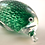 Thumbnail: Ray Annenberg Art Glass Incredibly Tiny Bubbled Penguin