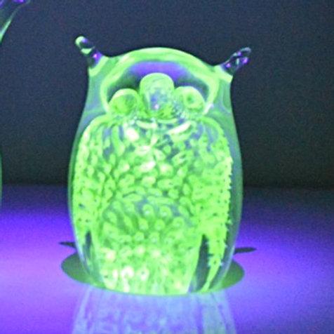 Ray Annenberg Rare Radioactive Uranium Owl