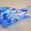 Thumbnail: Whitefriars 1980 FLC SKY BLUE Miniature Knobbly