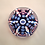 """Thumbnail: Whitefriars Pre-production 2.5"""" Trial Candy Twist Coronation Paperweight"""