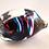 Thumbnail: Ray Annenberg Art Glass Bubbled Owl in Magic Streaks