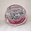 Thumbnail: Whitefriars Millefiori Paperweight with Small Ball Cuts