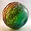Thumbnail: Rare Experimental Whitefriars Design Trial Peacock Studio Range Vase