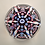 Thumbnail: Whitefriars Pre-production Trial Candy Twist Coronation Paperweight