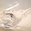 Thumbnail: Whitefriars Glass Footed Swan in Flint