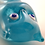 Thumbnail: Ray Annenberg Art Glass Owl in Cloudy Blue