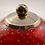 Thumbnail: Whitefriars Bubbled Pen Holder in Ruby