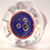 Thumbnail: Rare Trial Faceted Whitefriars One-Off Millefiori Xmas Paperweight