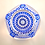 Thumbnail: Whitefriars Pre-production Trial Star of David Paperweight