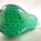 Thumbnail: Whitefriars 1980 Art Glass Pear in Rare Aqua