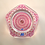 """Thumbnail: Epic Whitefriars Experimental Full Size """"Clichy Rose"""" Concentric Paperweight"""