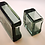 Thumbnail: Super Rare Whitefriars Pen Holder Set in Ocean Green 1360 & 1361