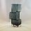 Thumbnail: Whitefriars Drunken Bricklayer Glass Vase In Indigo