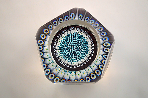Rare Whitefriars Design Trial Paperweight