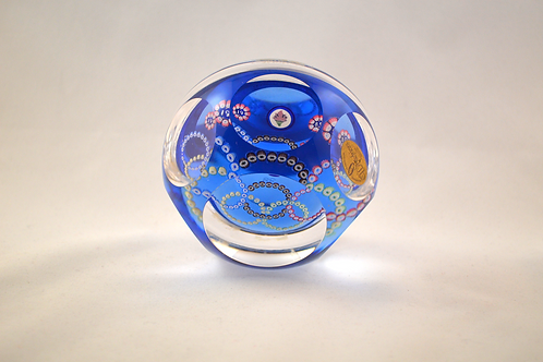Whitefriars Olympic Torch Paperweight on LB 1980