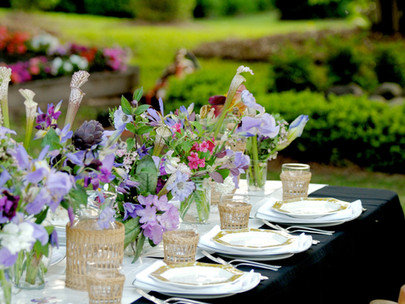 Estate Table Setting