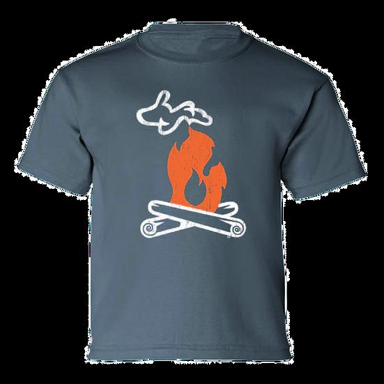 Michigan Campfire - Youth T-Shirt