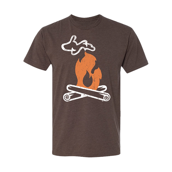 Michigan Campfire - Unisex Triblend Tee