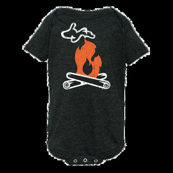 Michigan Campfire - Infant Vintage Bodysuit