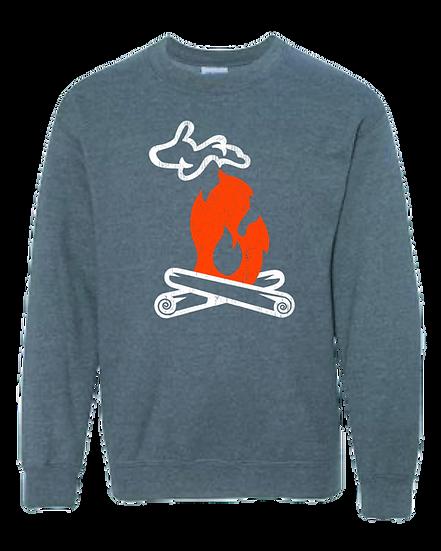 Michigan Campfire - Youth Sweatshirt