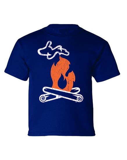 Michigan Campfire - Youth Tee