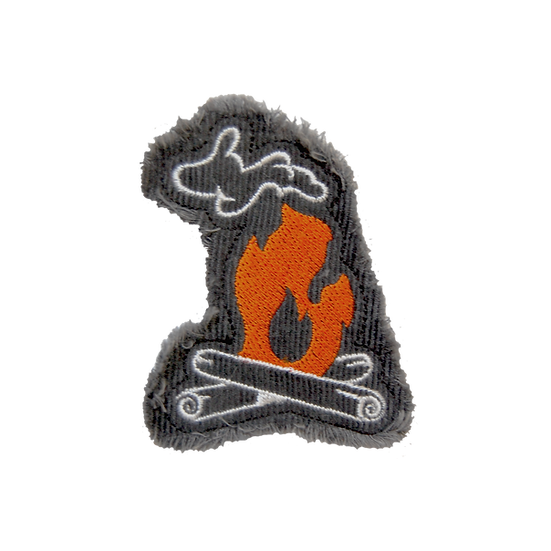 Iron-On Patch - Michigan Campfire