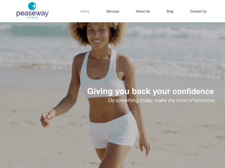 Our New Peaseway Clinic Website Is Live