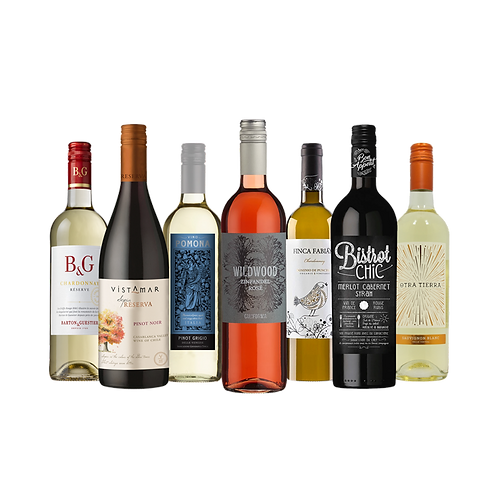 Foxy's Favourites Mixed Selection - 12 Bottles