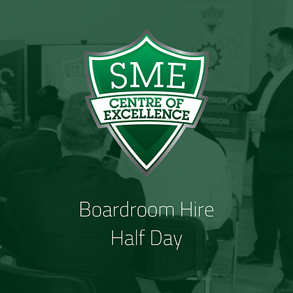 Boardroom Hire - Half Day