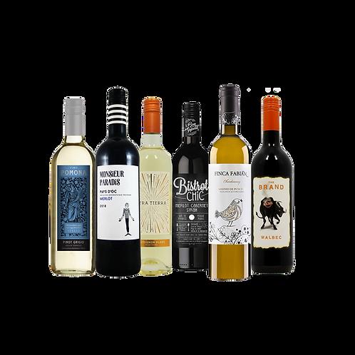 Foxy's Fantastic Mixed Selection - 6 Bottles