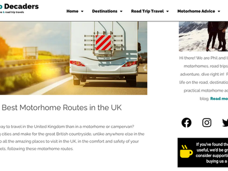 10 Best Motorhome Routes in the UK