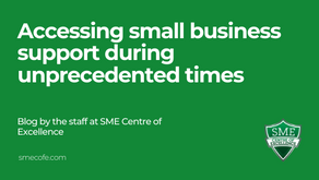 Accessing small business support during unprecedented times