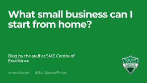 What small business can I start from home?