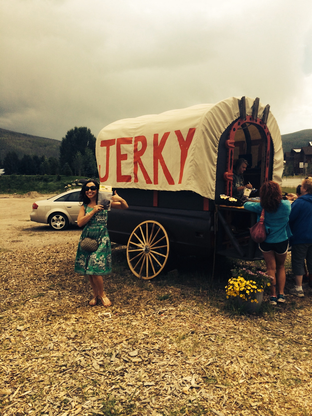 roadside jerky out of a covered wagon? OK!