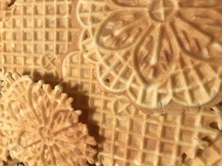 Gee it's swell to make Pizzelle's!