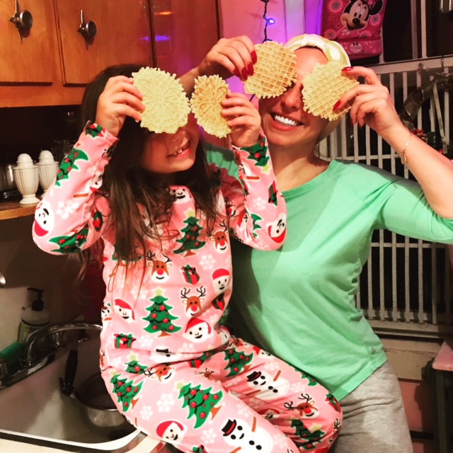 We've got our pizzelle goggles on!