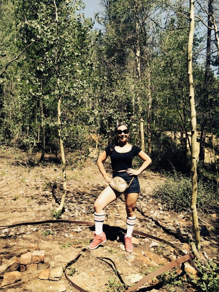 look Ma'! I'm hiking!