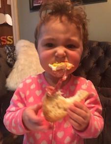 Sis skips the fork.