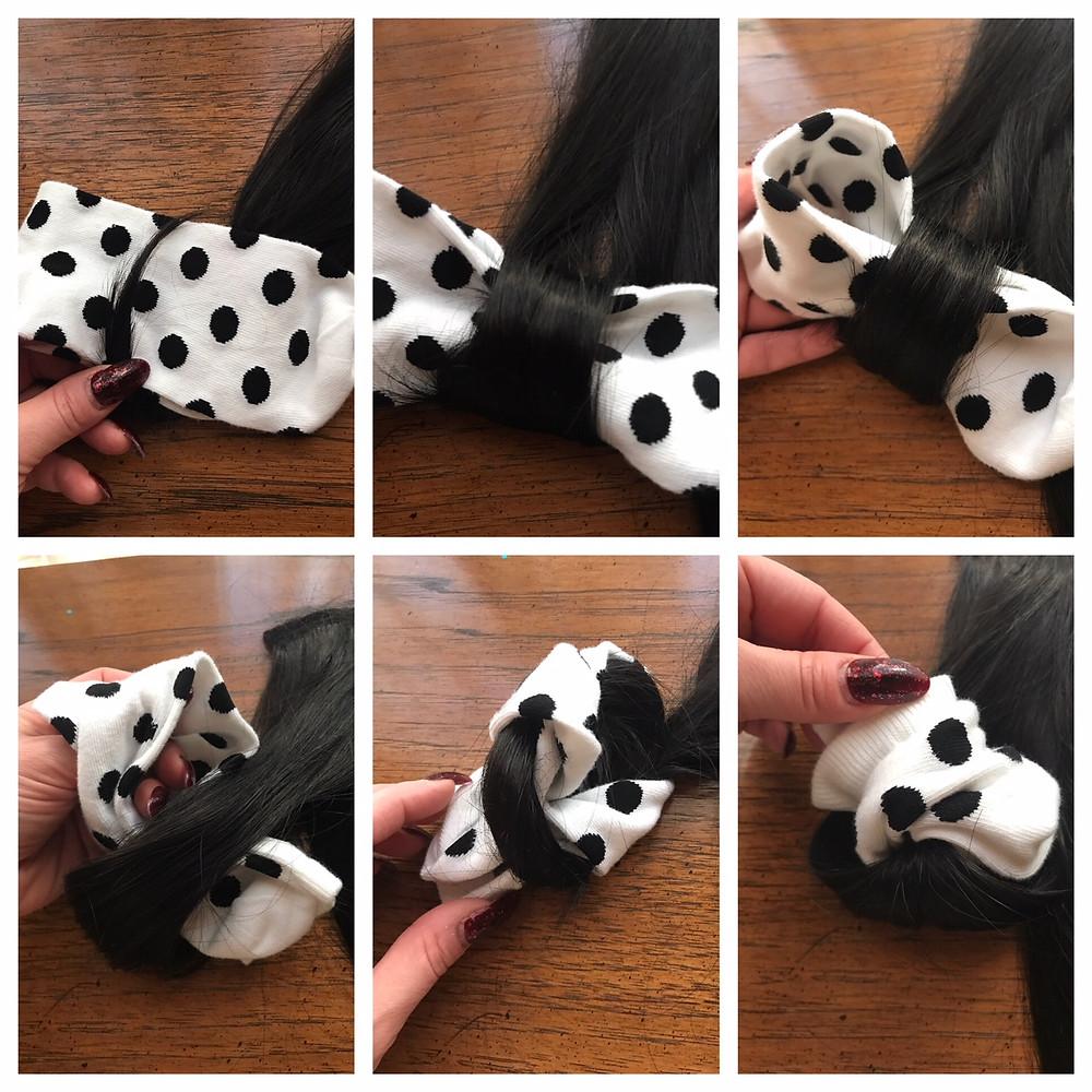 Folded Sock Roll Flow