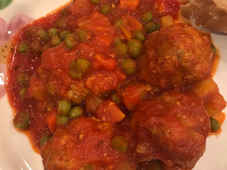 Grandmom Mary's Meatball Stew